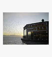 Carousel Bar Photographic Print