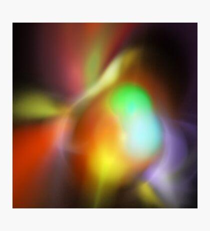 Fluorescence Photographic Print