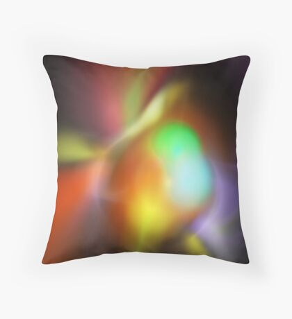 Fluorescence Throw Pillow