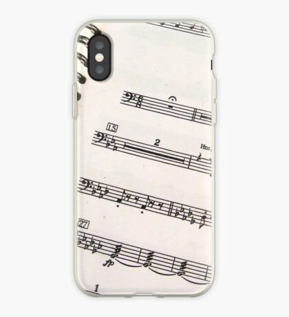 Bass Clef Music iPhone 4 Case iPhone Case