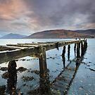Loch Linnhe jetty by STEVE  BOOTE