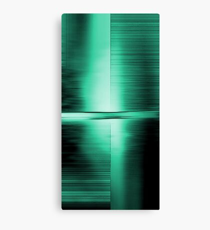 Shimmering Green Canvas Print