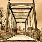 Trail Bridge over White Lick Creek by David Owens