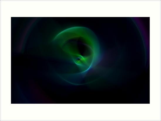 Green Flame by Benedikt Amrhein