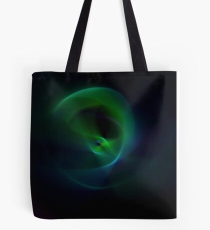 Green Flame Tote Bag