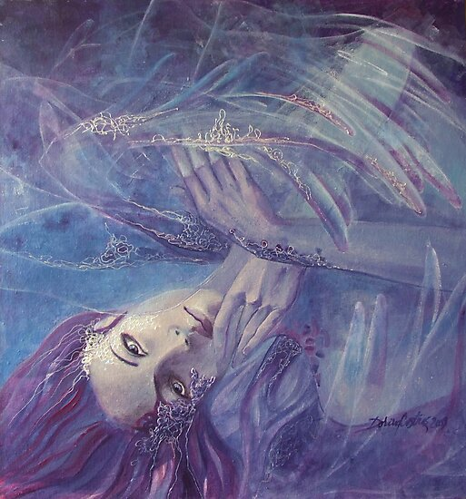 Broken wings - (Nymph3) by dorina costras