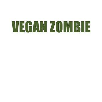 Vegan Zombie by Gwingle