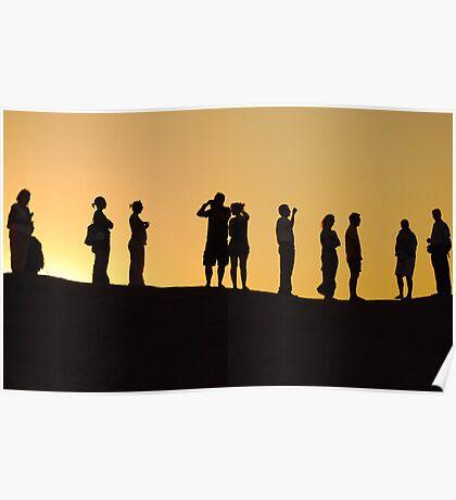 Sinai Sunset Poster