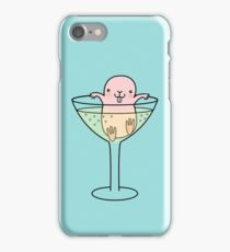 Naked Mole Rat - Celebrating with Champagne iPhone Case/Skin