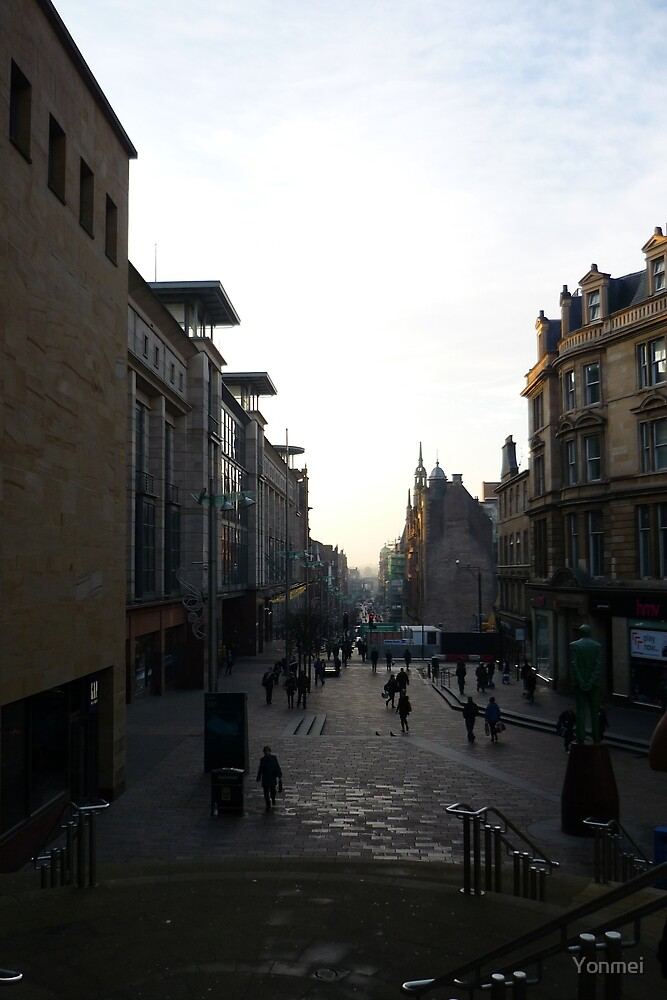 Buchanan Street, Early Morning by Yonmei
