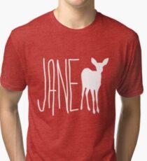 Max's Shirt - Jane Doe  Tri-blend T-Shirt