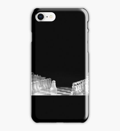 Chess 9: First move (T-Shirt & iPhone case) iPhone Case/Skin