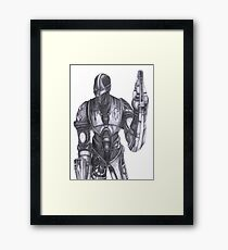 Lost Master Framed Print