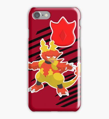 Volcano Badge Magmar iPhone Case/Skin