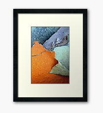 The Slopes of Mt.Orange Framed Print