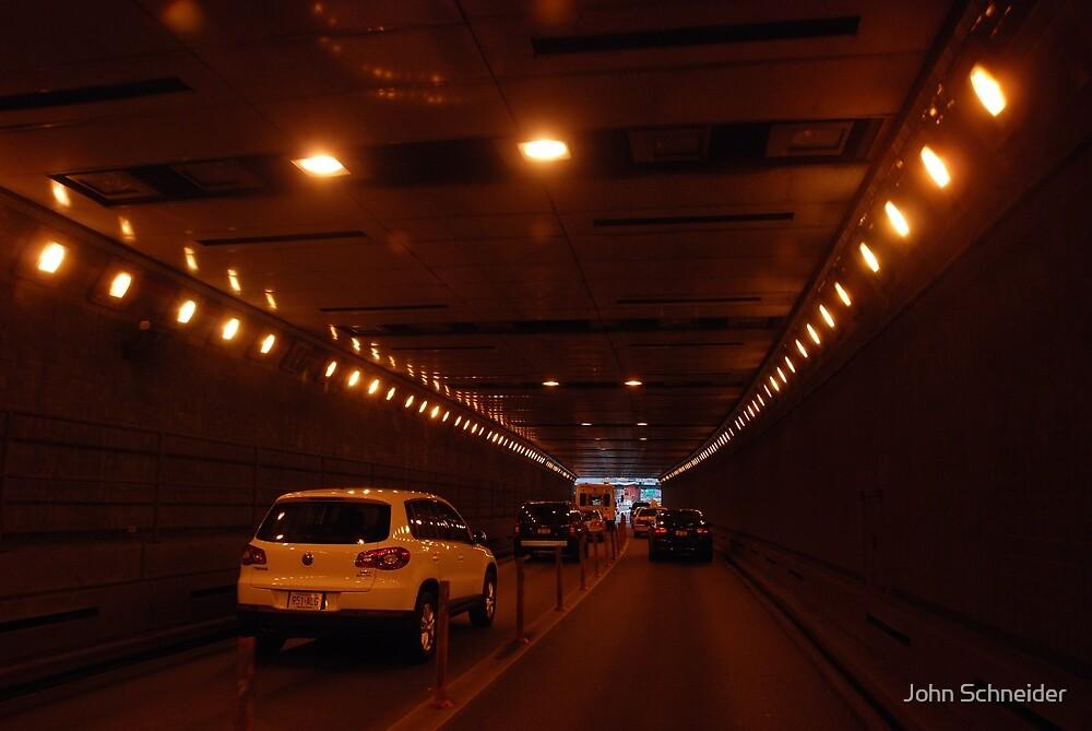 Queens Midtown Tunnel - Queens by John Schneider