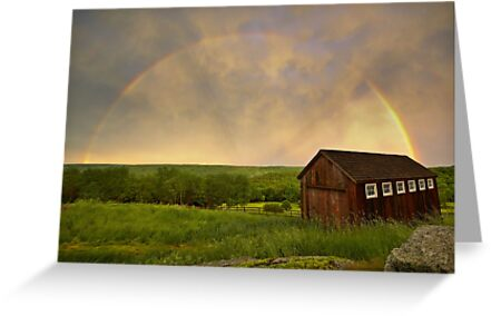 Rainbow Evening by DChungaPhoto