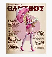 Gameboy: Peach Photographic Print