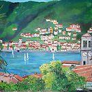 Torno, Lake Como, Italy by Teresa Dominici