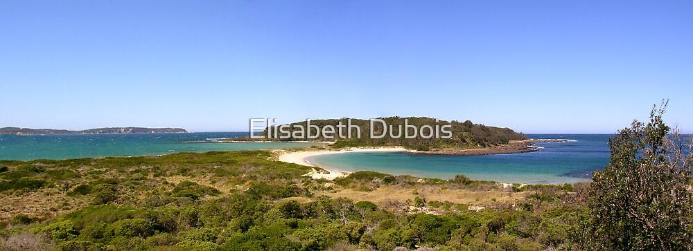 Broulee Island Panorama by Elisabeth Dubois