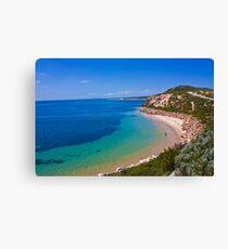 Beach Landscape,Victoria,Australia. Canvas Print