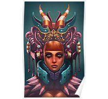 Rashah Queen Portrait Poster