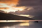 Loch Tay Sunset by Cliff Williams