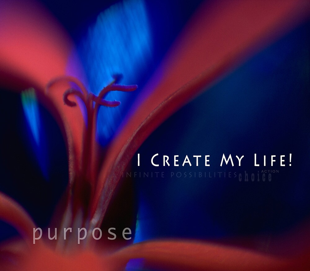 I create my life! by jocelynk