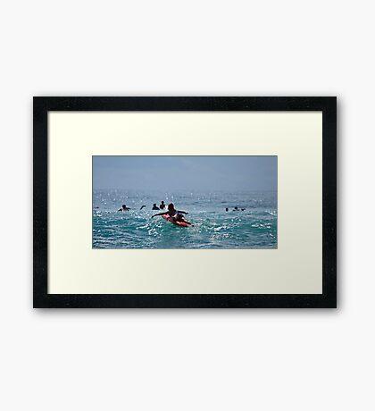 Gotta Love Queensland Framed Print