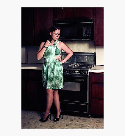 Kitchen Pin Up Photographic Print