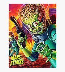 Mars Attack Photographic Print