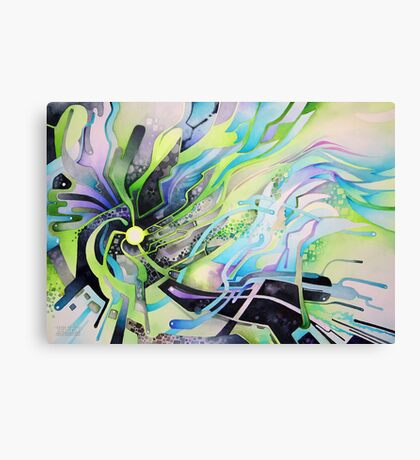Axion of Evil - Watercolor Painting Canvas Print