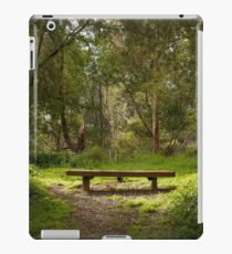 Bench in Park iPad Case/Skin