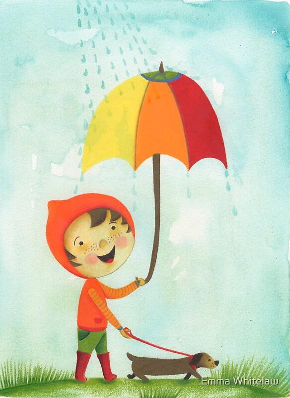 """rain drops keep falling on my head"" Framed Prints by emmz ..."