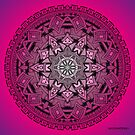 Mandala Drawing 25 PINK Prints, Cards & Posters by mandala-jim
