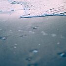 water ripples digitally manipulated beach close up  by PhotoStock-Isra