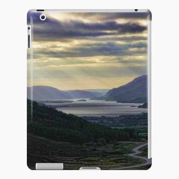 Looking West-To Loch Maree in the Highlands of Scotland(2) iPad Snap Case