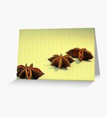 Sternanis Greeting Card