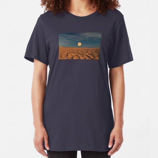 Moon across the Sands Slim Fit T-Shirt