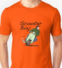 Scooter Boy Old Skool riding Unisex T-Shirt