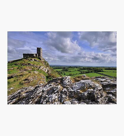 Brentor Church, Dartmoor National Park - Devon Photographic Print