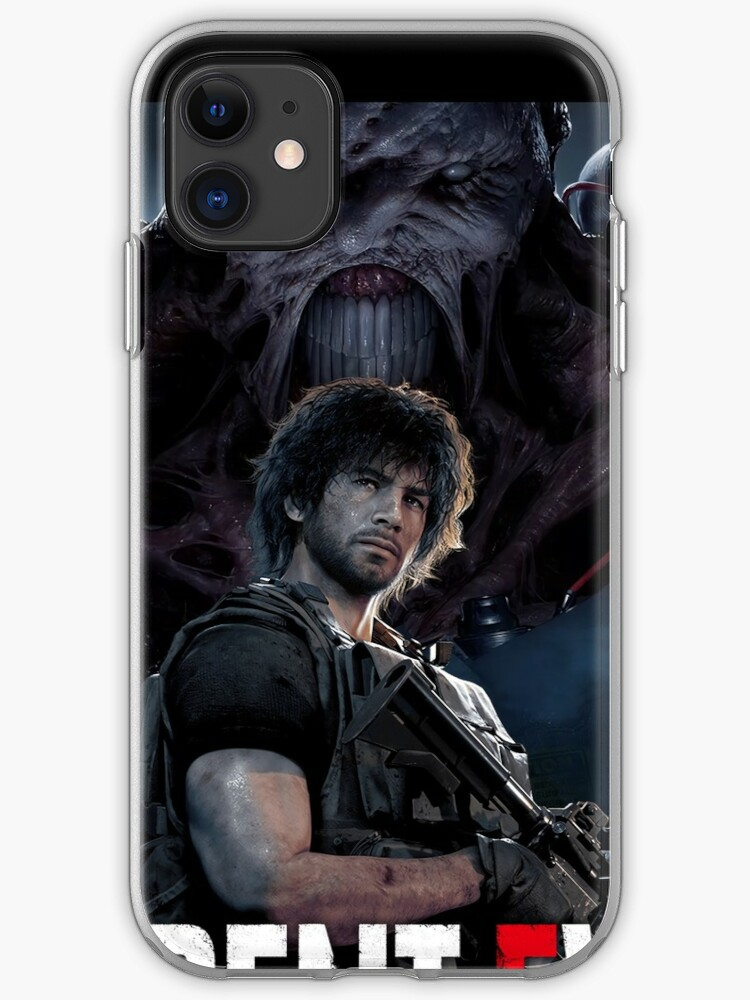 Resident Evil 3 Remake Carlos Iphone Case Cover By Sahaa