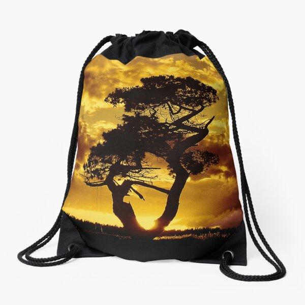 Tree Dance 2 Drawstring Bag