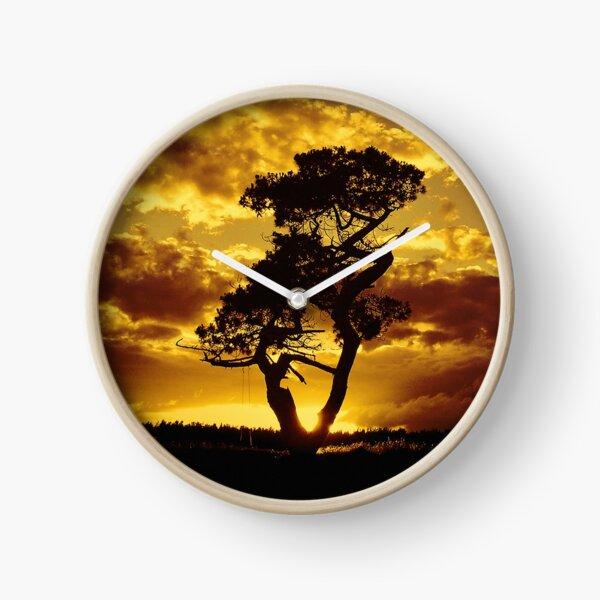 Tree Dance 2 Clock