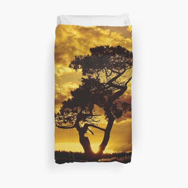 Tree Dance 2 Duvet Cover