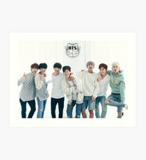 BTS/Bangtan Sonyeondan - Season's Greetings #1 Art Print