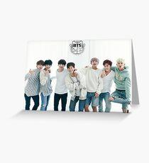 BTS/Bangtan Sonyeondan - Season's Greetings #1 Greeting Card