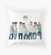BTS/Bangtan Sonyeondan - Season's Greetings #1 Throw Pillow