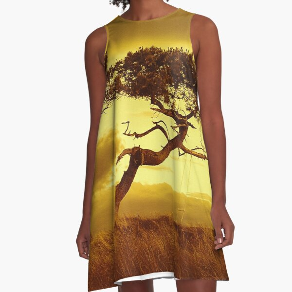 Tree Dance A-Line Dress