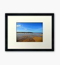 seaside surf Framed Print